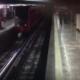 Video: Captan suicidio en la metro de la CDMX