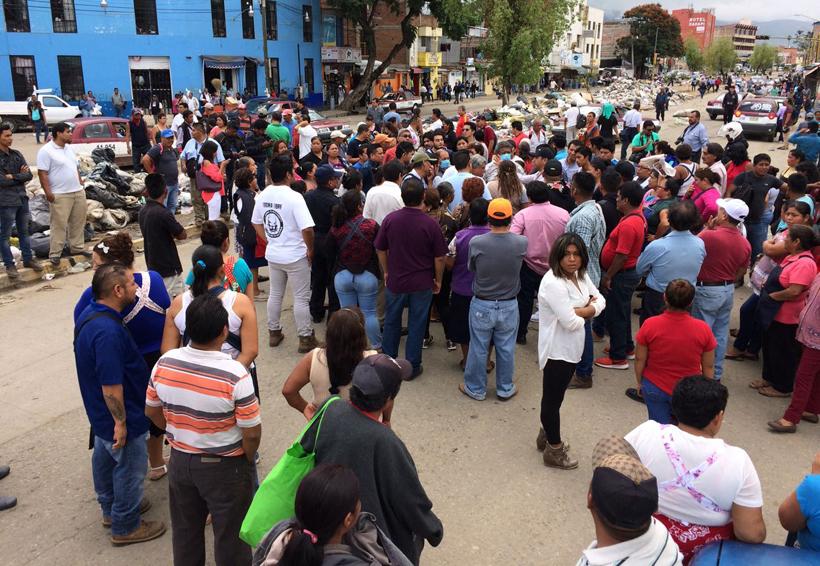 Oaxaca: entre basura y bloqueos   El Imparcial de Oaxaca