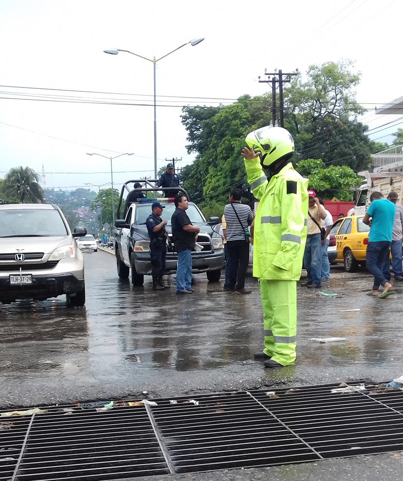 Filtros de seguridad son legales, jefe vial Salina Cruz   El Imparcial de Oaxaca