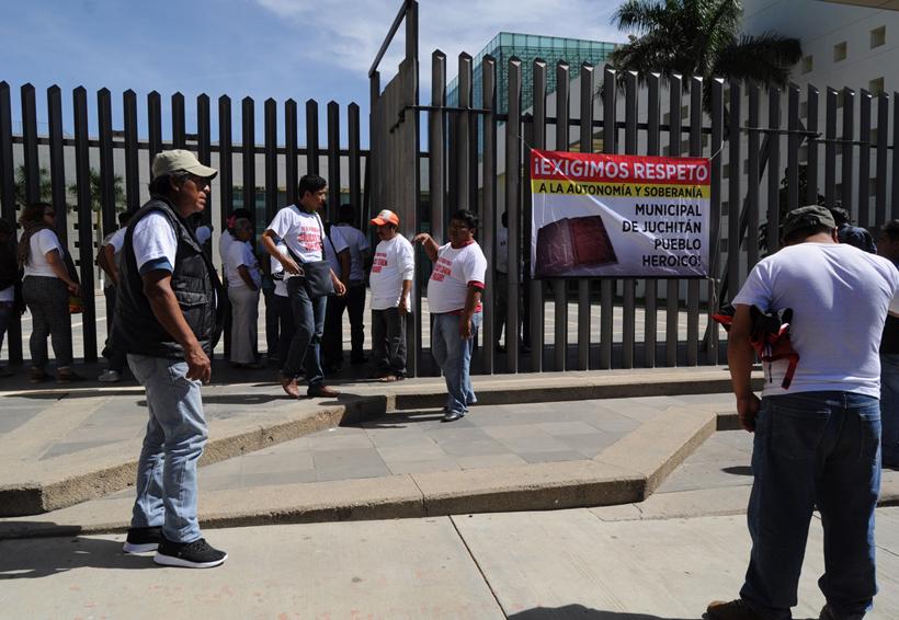 Trifulca en el centro de Juchitán
