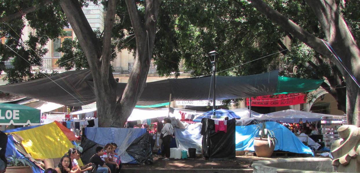 Echados de la colonia Francisco Villa, continúan exigiendo justicia | El Imparcial de Oaxaca