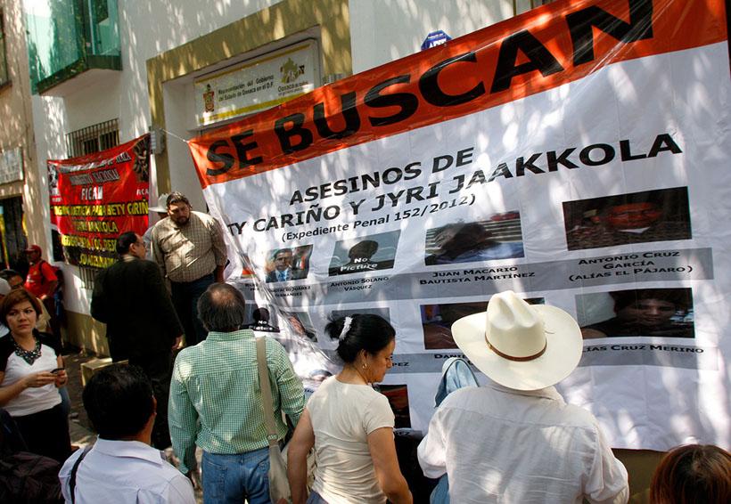 Cae otro de los presuntos asesinos de activistas