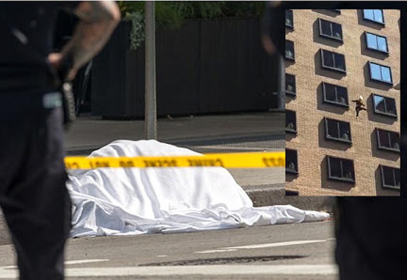 Captan el instante en el que una mujer se suicida arrojándose desde lujoso hotel | El Imparcial de Oaxaca
