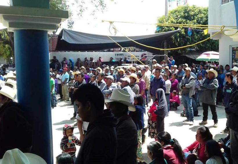 Piden voluntad para elegir a la  autoridad de San Martín Peras, Oaxaca