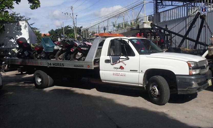 Aseguran 13 motocicletas  en Juchitán, Oaxaca | El Imparcial de Oaxaca