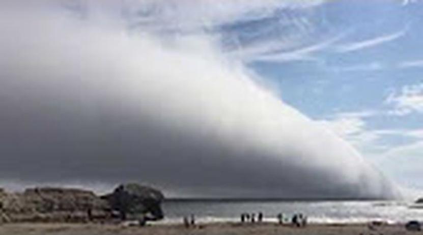 Una enorme nube 'devora' una playa de California | El Imparcial de Oaxaca