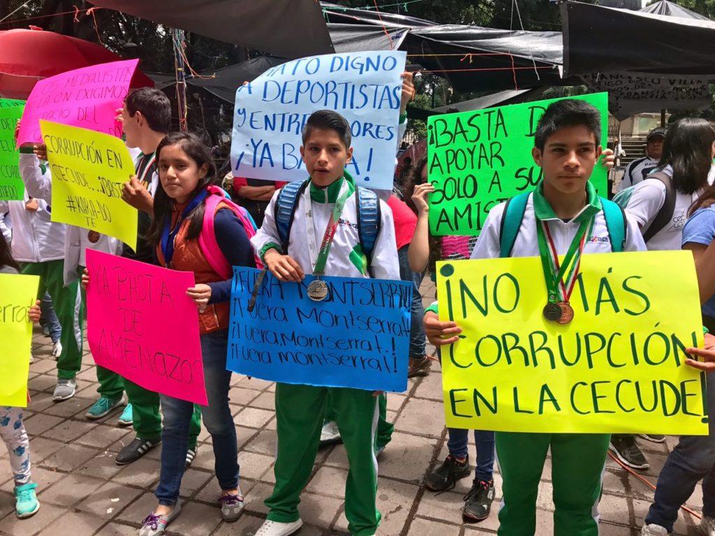 Deportistas exigen la salida de titular de la Cecude en Oaxaca | El Imparcial de Oaxaca