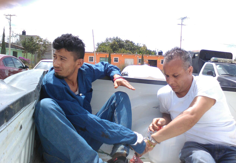 Fuga en Miahuatlán, se van dos secuestradores