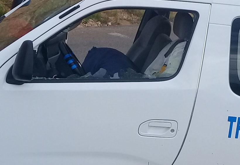 Asesinan a balazos a chofer de Urvan en Oaxaca