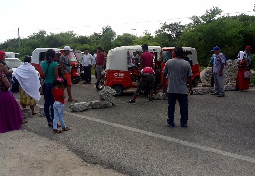 Un detenido y unidades decomisadas deja trifulca en Juchitán