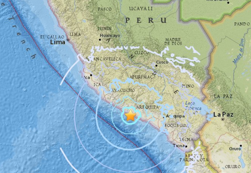 Un muerto y dos heridos deja sismo de 6 grados en Arequipa