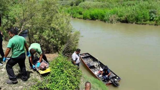 Hombre muere ahogado al intentar cruzar el Río Bravo