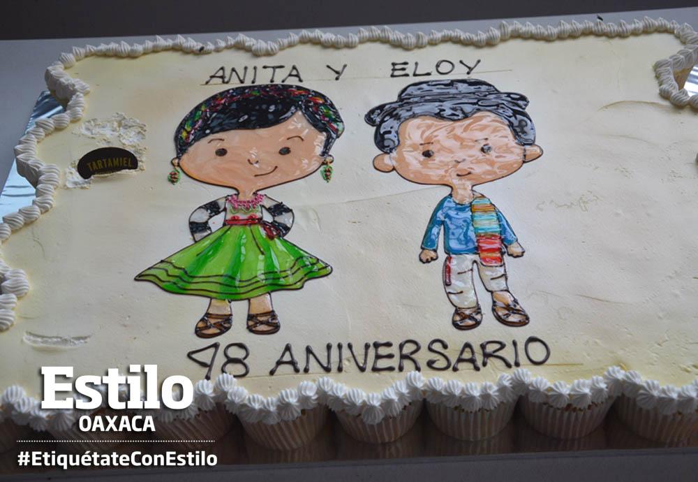 Aniversario de bodas de Eloy y Anita