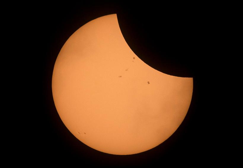 Aquí todos los detalles del eclipse solar de hoy