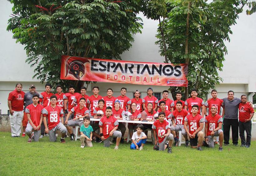 Los Espartanos se alistan para iniciar temporada de Futbol Americano | El Imparcial de Oaxaca