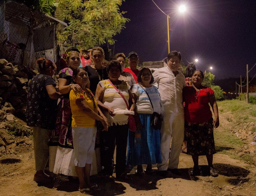 Inauguran alumbrado público en Salina Cruz | El Imparcial de Oaxaca