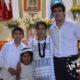 Juan y Diana son bautizados