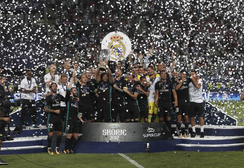 Cuarta supercopa para el Real Madrid   El Imparcial de Oaxaca