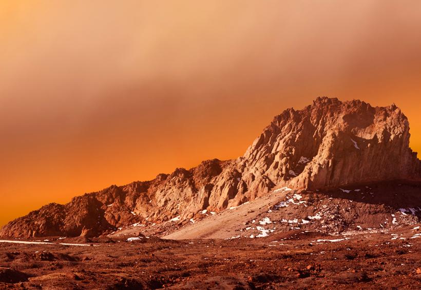 La NASA revela imágenes del cielo nevado de Marte | El Imparcial de Oaxaca