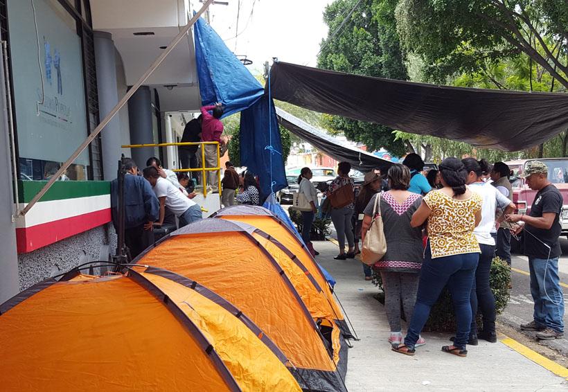 Se planta sindicato independiente en oficinas del Seguro Popular en Oaxaca | El Imparcial de Oaxaca