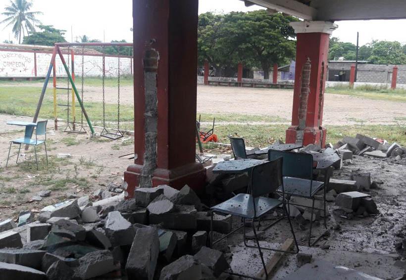 Derriban escuela en Centro Recreativo Infantil de Juchitán | El Imparcial de Oaxaca