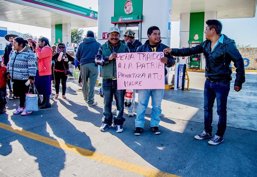En la Mixteca piden no comprar combustible robado | El Imparcial de Oaxaca
