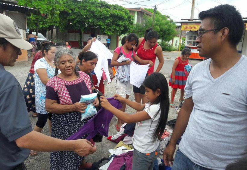 Envía magisterio de Oaxaca más de 40 toneladas de ayuda a damnificados | El Imparcial de Oaxaca