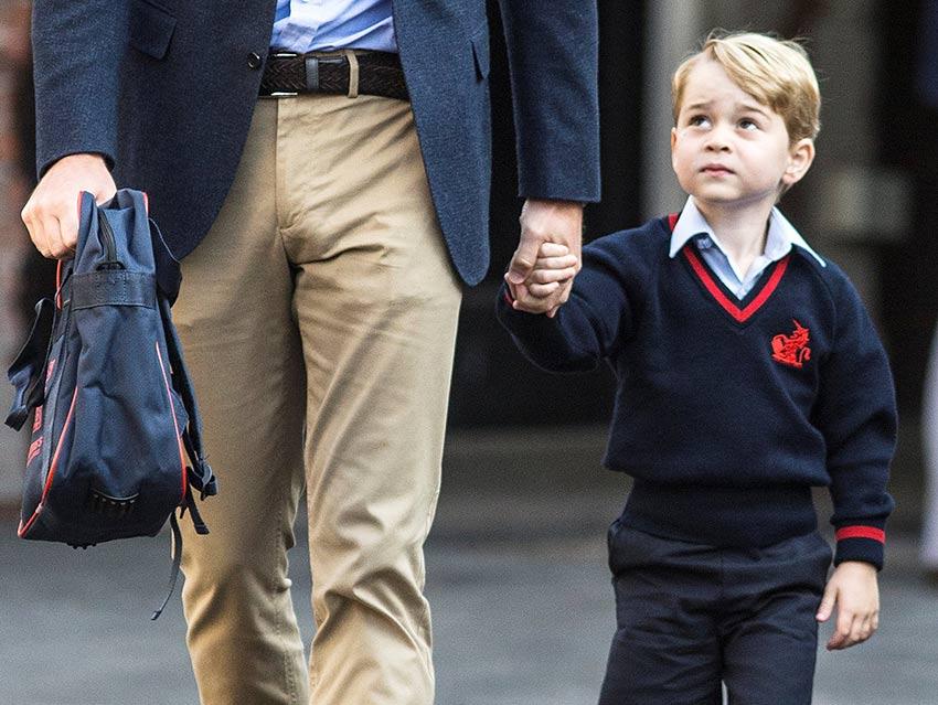 Catalina se pierde el primer día de escuela del príncipe Jorge | El Imparcial de Oaxaca