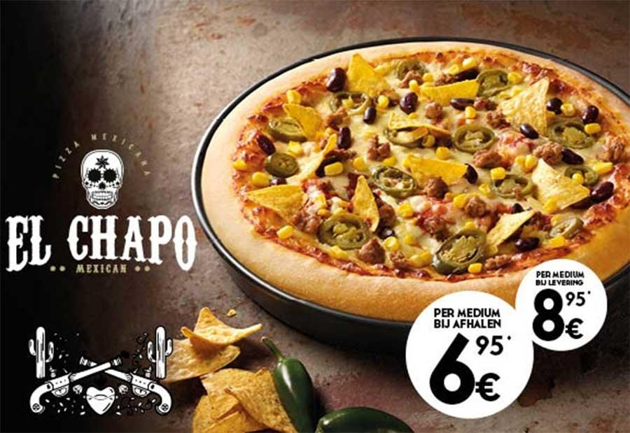 Crean pizza 'El Chapo'; causa 'indigestión' en redes | El Imparcial de Oaxaca