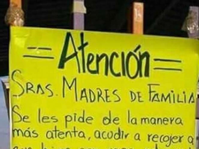 Escuela pide a madres de familia no ir a recoger a sus hijos de minifalda, 'minishorts' ni escotes | El Imparcial de Oaxaca