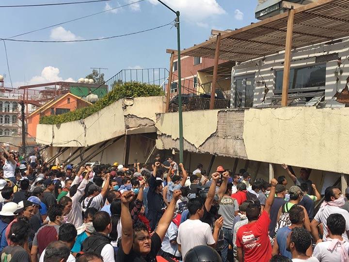 Pánico en México tras fuerte terremoto de 7.1 | El Imparcial de Oaxaca