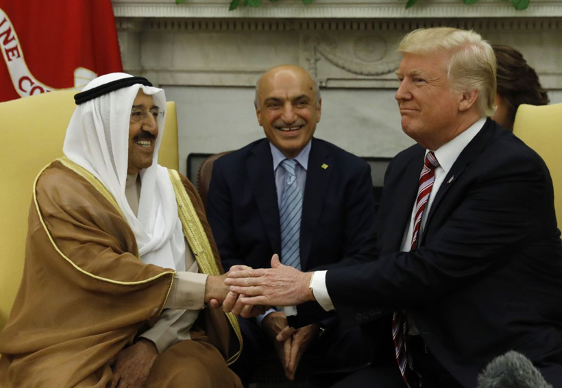 Trump dispuesto a mediar en diferendo con Catar