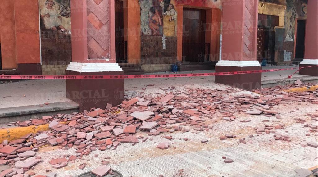 Reportan varios edificios con fisuras en Huajuapan de León | El Imparcial de Oaxaca