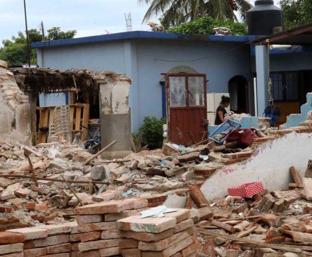 Instalan 11 nuevos albergues tras sismos en el Istmo, Oaxaca