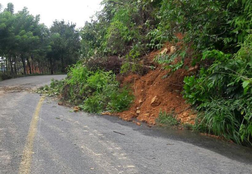 Lluvias causan estragos en Jalapa de Díaz, Oaxaca