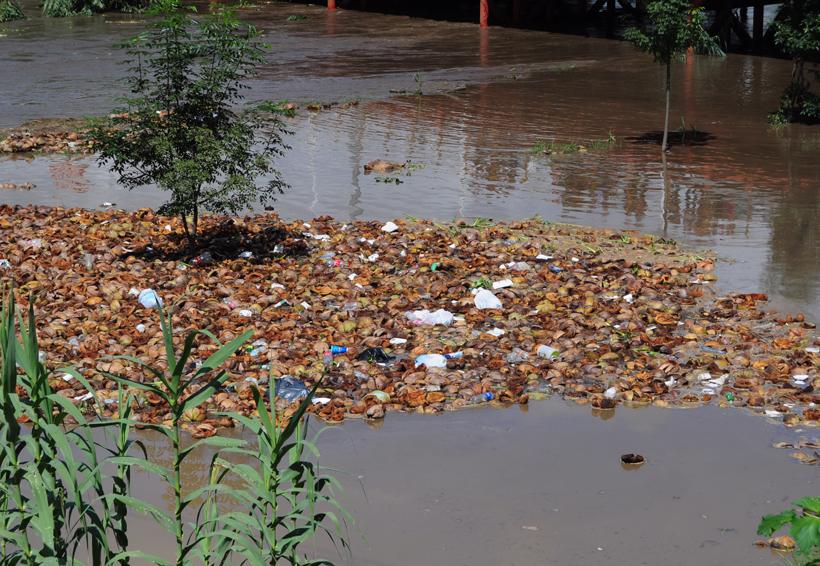 Persisten toneladas de basura bajo  puentes de  Oaxaca | El Imparcial de Oaxaca