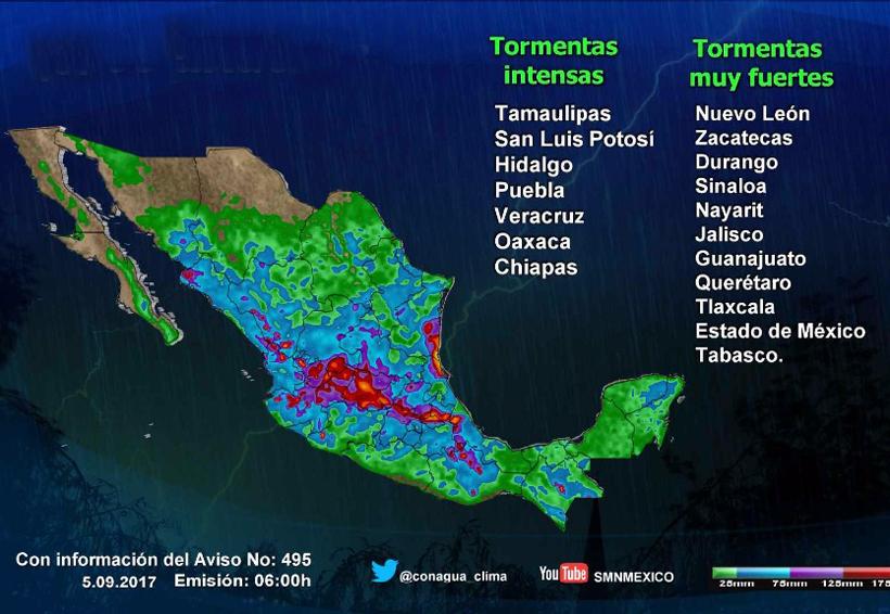 Septiembre espera su primer temporal de lluvias | El Imparcial de Oaxaca