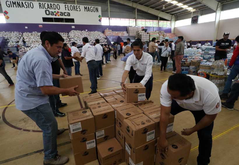 No cesa ayuda para los damnificados del Istmo | El Imparcial de Oaxaca