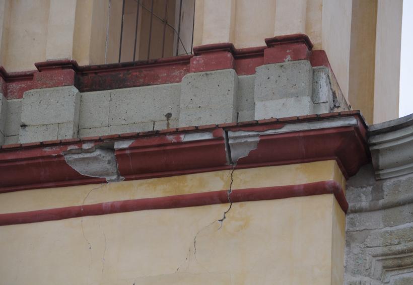Reportan 33 templos dañados en Oaxaca | El Imparcial de Oaxaca