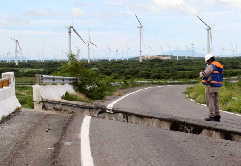 Paraliza sismo 21 parques eólicos en el Istmo, Oaxaca | El Imparcial de Oaxaca