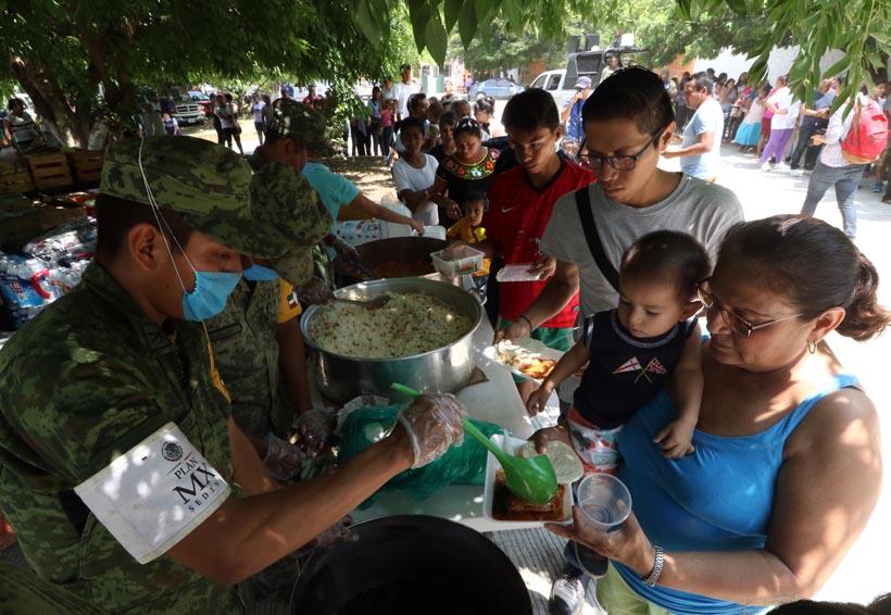 Entregan militares de Oaxaca más de 40 toneladas de víveres | El Imparcial de Oaxaca