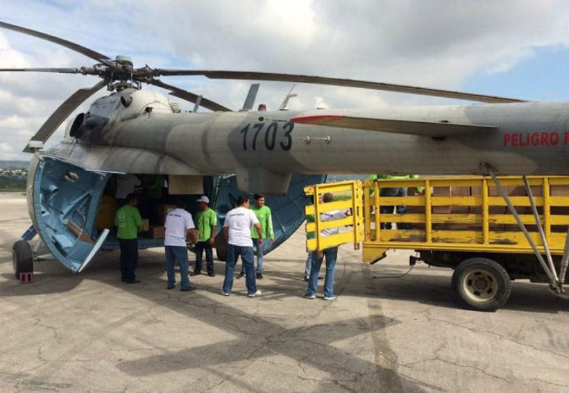 Se desploma helicóptero que transportaba víveres para Chiapas | El Imparcial de Oaxaca