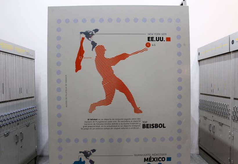 Siembra el Mufi afición por timbres postales en Oaxaca