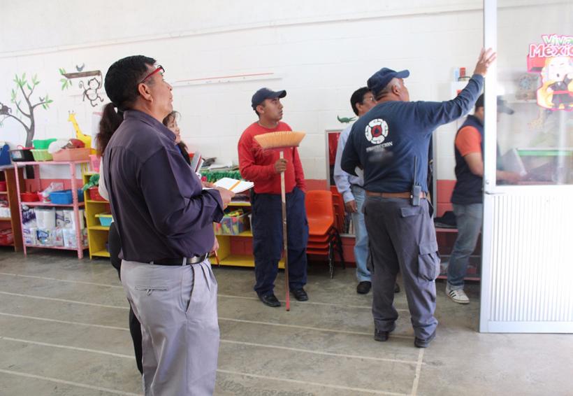 Registran daños en escuelas de la capital de Oaxaca | El Imparcial de Oaxaca