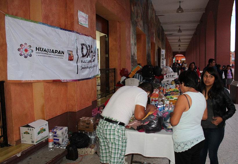 Harán mega colecta de víveres en Huajuapan para el Istmo | El Imparcial de Oaxaca
