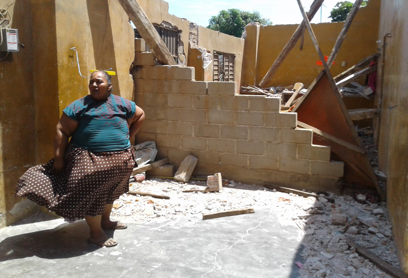 Entre los escombros San Blas Atempa, Oaxaca | El Imparcial de Oaxaca