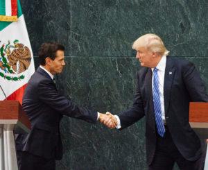 Trump ofrece ayuda a EPN ante emergencia por sismo
