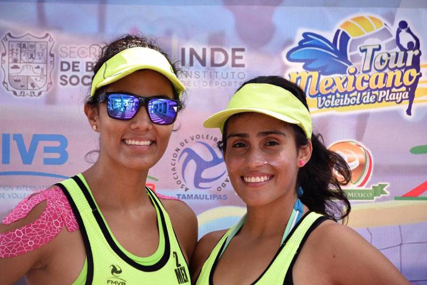 Freda y Frida López brillan en el Tour Mexicano de Voleibol de Playa | El Imparcial de Oaxaca