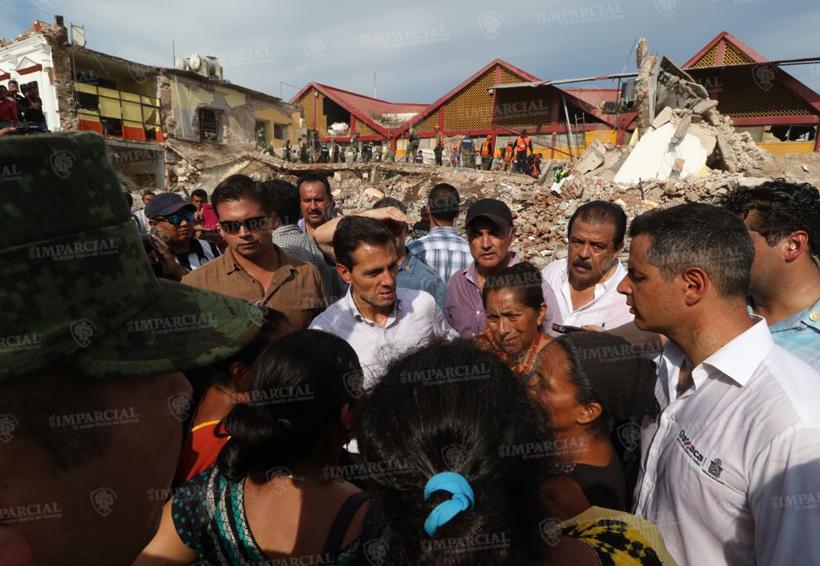 Peña Nieto decreta luto nacional por víctimas del sismo | El Imparcial de Oaxaca