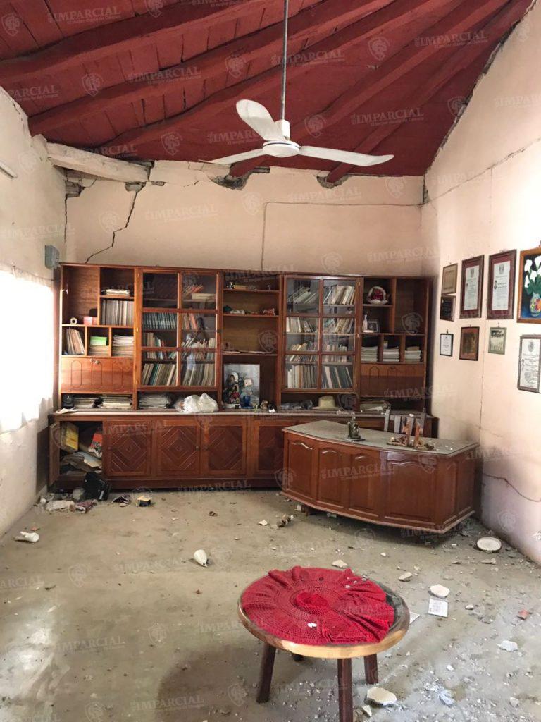 Fotogalería: Daños ocasionados por el megasismo de 8.2 de magnitud en Unión Hidalgo